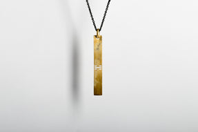 Plate Necklace (Sugermans Punchout, AG+KA)