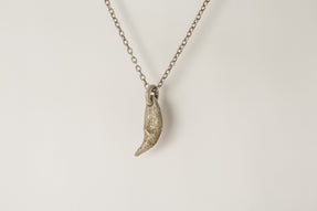 Bear Tooth Necklace (Ghost, var. large, AS+DA)