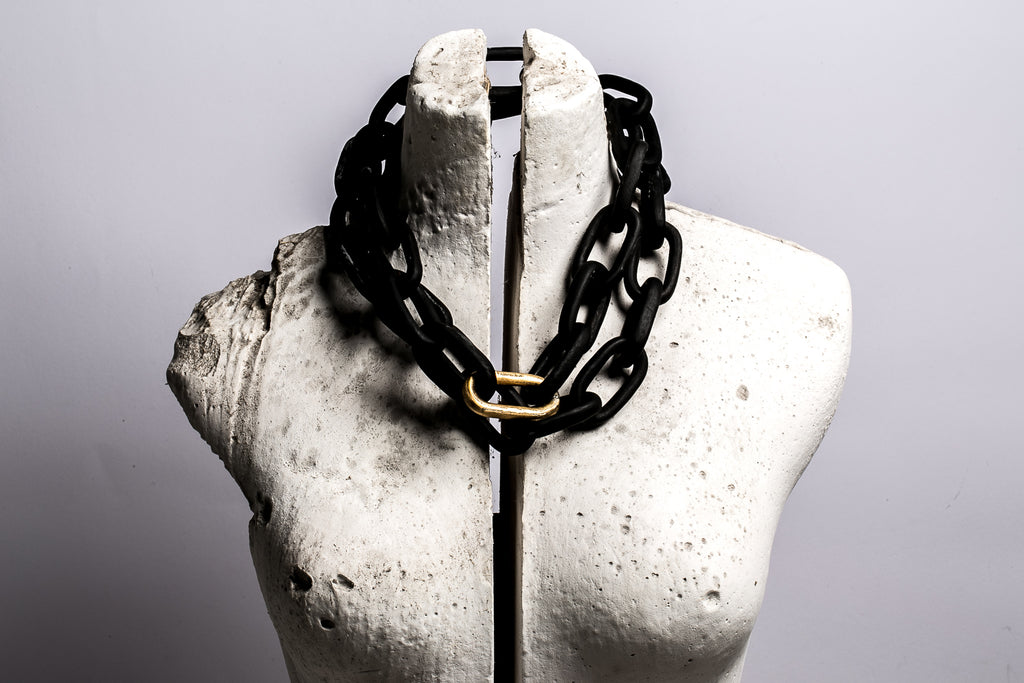 Organic Chain (Medium links, 113cm, KU+AG)
