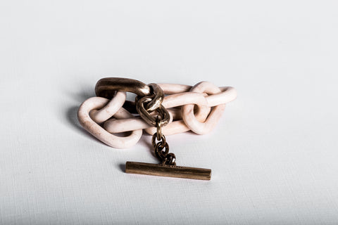 Toggle Chain Bracelet (Small Links, B+MR)