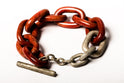 Toggle Chain Bracelet (Small Links, C+DA)