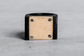 Plate Ring Single (17mm, KA+MASU)
