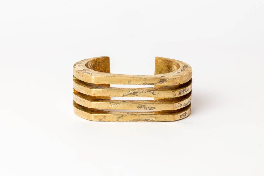 Crescent Plane Bracelet (Hybrid Deco Bars, 30mm, AG)