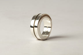Crescent Crevice Ring (9mm, PA)