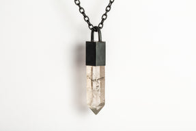 Talisman Necklace (Smoky Quartz, KA+SQ)