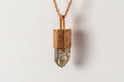 Talisman Necklace (Garden Quartz, AM+AMA+GQ)