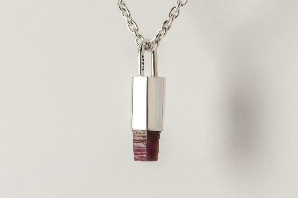 Talisman Necklace (Ruby Crystal, PA+RC)