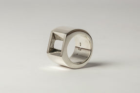 Crescent Plane Gateway Ring (17mm, PA)