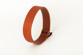 Leather Charm Choker (30mm, ALE+KZ)