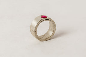 Sistema Ring (0.6 CT, Single Ruby Slice, 9mm, MA+RUB)