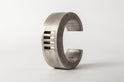 Crescent 4-Bar Punchout Bracelet (30mm, AS)