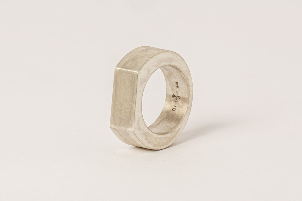Crescent Plane Ring (9mm, MA)