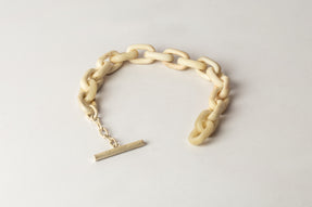 Toggle Chain Bracelet (Extra Small Links, B+UAS)