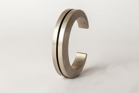 Crescent Crevice Bracelet v2 (15mm, AS)