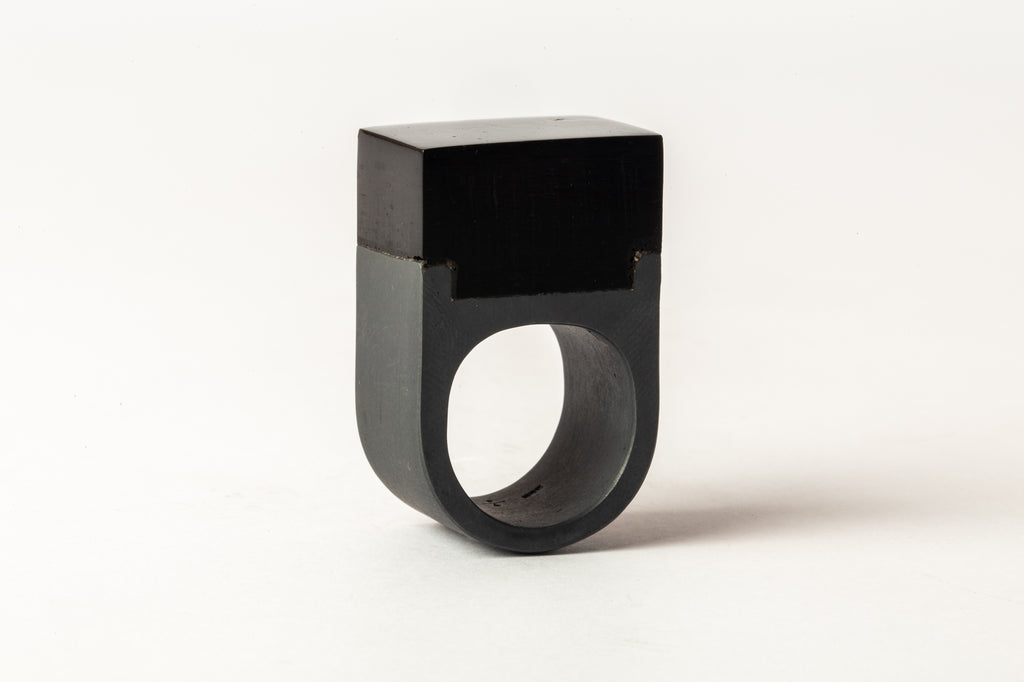 Plate Ring Single (Cuboid, 17mm, KA+MJET)