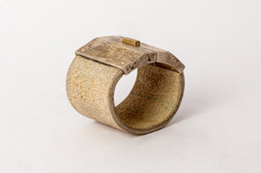 Box Lock Bracelet (Facet, Wide, FLE+SUAG)