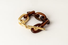 Toggle Chain Bracelet (Small Links, RAH+AGA)