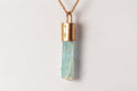Talisman Necklace SPECIMEN (Aquamarine, AM+AMA+AQU)