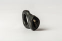 Tall Roman Ring (Shungite, KA+NS)