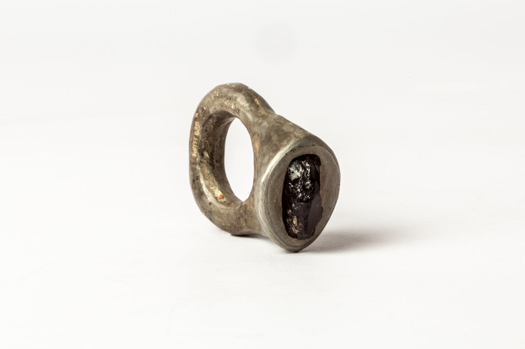 Tall Roman Ring (Strawberry Garnet, DA+GAR)
