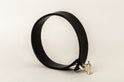 Leather Charm Choker (30mm, MA+BLK)
