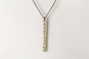 Plate Necklace (Half, DA18K)