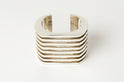 Crescent Plane Bracelet (Hybrid Deco Bars, 60mm, PA)