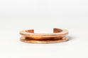 Crescent Channel Bracelet (15mm, AM)