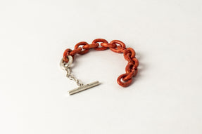 Toggle Chain Bracelet (Extra Small Links, C+MA)