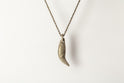 Bear Tooth Necklace Ghost (Small, DA)