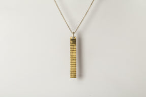 Plate Necklace (Acid Etch, 16-lines, MR+MA)