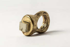 Giant Roman Ring (Pyrite, TOM+PYR)