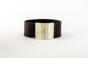 Box Lock Choker (Wide, BLK+MA)