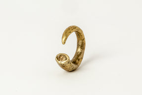 Little Horn Ring (Hoof Set, Herkimer, TOM+HER)