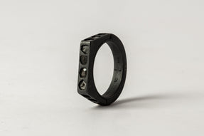 Sistema Ring (Facet, Mega Pave, 4mm, KA+DIA)