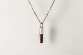 Talisman Necklace SPECIMEN (Ruby, MA+DRUS)