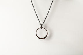 Sphere Slice Charm Necklace (DR+KA)