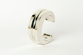 Crescent Folded Bracelet (Distortion Blade, 1 fold, 30mm, PA)