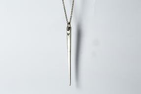 Big Spike Necklace (0.4 CT, Single CHUNKY-Stone, MA+DIA)