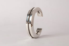 Crescent Crevice Bracelet (15mm, PA)