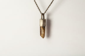 Talisman Necklace (Garden Quartz, DA+Q)