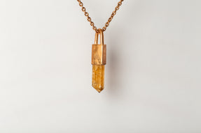 Talisman Necklace SPECIMEN (Imperial Topaz, AM+AMA+ITOP)