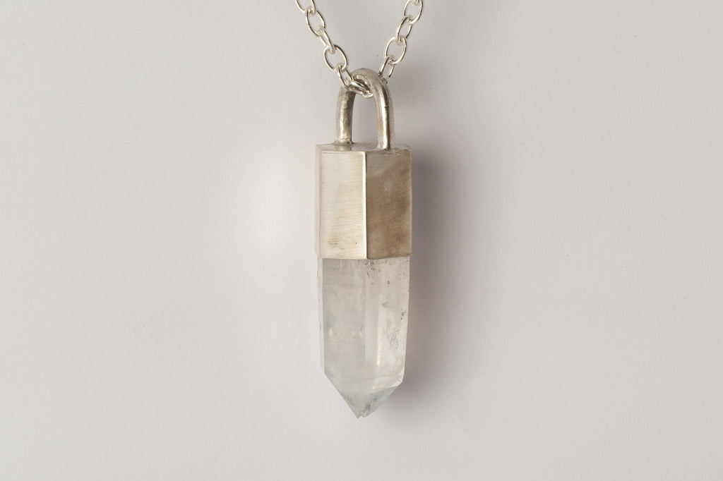 Talisman Necklace SPECIMEN (Quartz, MA+Q)