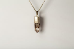 Talisman Necklace (Garden Quartz, MA+Q)