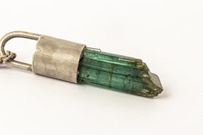 Talisman Necklace SPECIMEN (Green Tourmaline, DA+GTO)