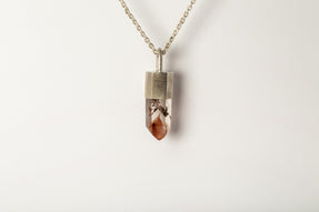 Talisman Necklace (Fire Amphibole, MA+FAM)