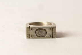 Plate Ring Single (0.4 CT, 1-Stone, 9mm, DA+DIA)
