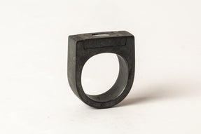 Plate Ring Single (0.2 CT, 1-Stone, 9mm, KA+DIA)