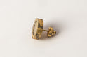 Stud Earring (1.0 CT, Diamond Slab, AGA+DIA)