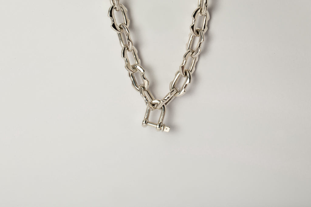 Charm Chain Necklace (50cm, Small Deco links, PA)